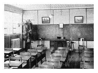 Classroom in 1900